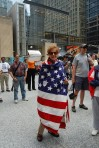 "A Patriot who ""wraps herself in the flag"" :o)"